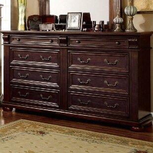Ellis 8 Drawer Double Dresser