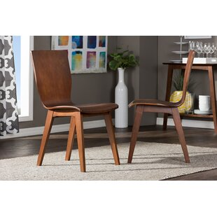 Inexpensive Senior Scandinavian Dining Chair (Set of 2) by Ivy Bronx