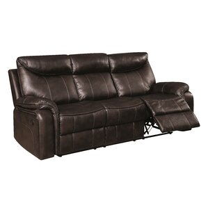 Boornazian Transitional Reclining Sofa by Re..