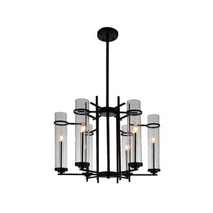 Gracie Oaks Maren 6-Light LED Candle-Style Chandelier