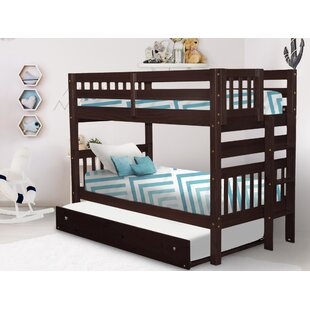 Treva Twin over Twin Bunk Bed with Trundle