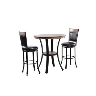 Alena 3 Piece Pub Table Set