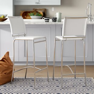 Korolevu 28.5 Bar Stool (Set of 2) Brayden Studio