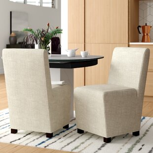 Eudocia Upholstered Side Chair (Set of 2) Mercury Row