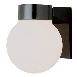 Wrought Studio Warnick 1-Light Flush Mount