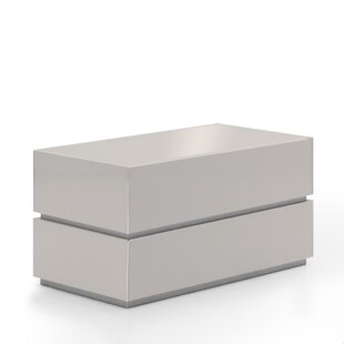 Reviews Potenza 2 Drawer Nightstand by Argo Furniture