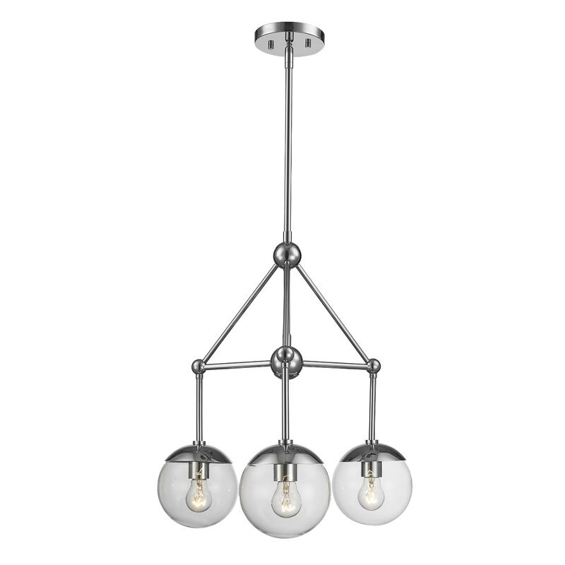 Breakwater Bay Romine 3 Light Shaded Classic Traditional Chandelier Wayfair