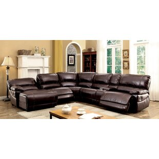 Newmont Reversible Reclining Sectional Alcott Hill