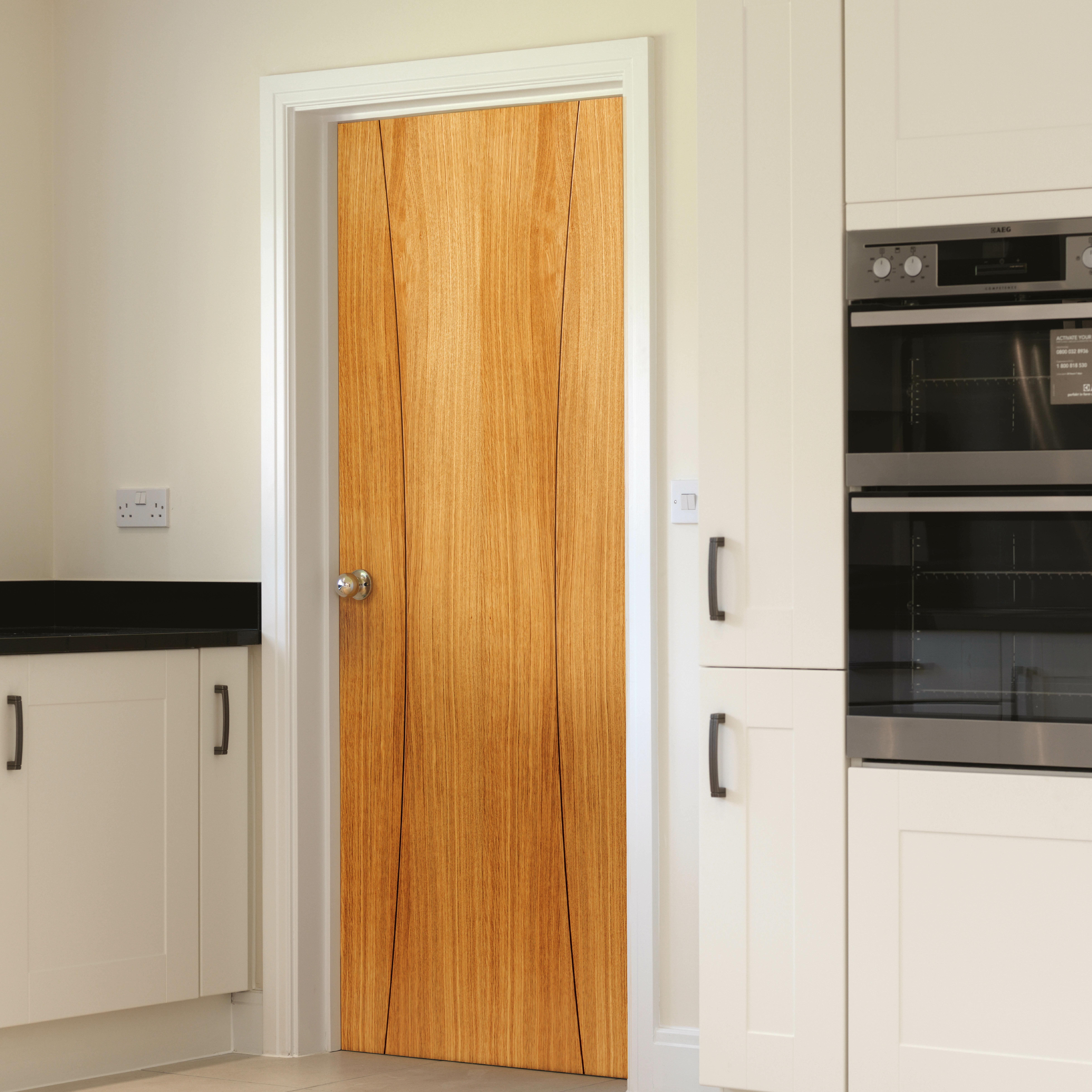 Solid Wood Internal Doors >> Arcos Solid Oak Flush Slab Internal Door