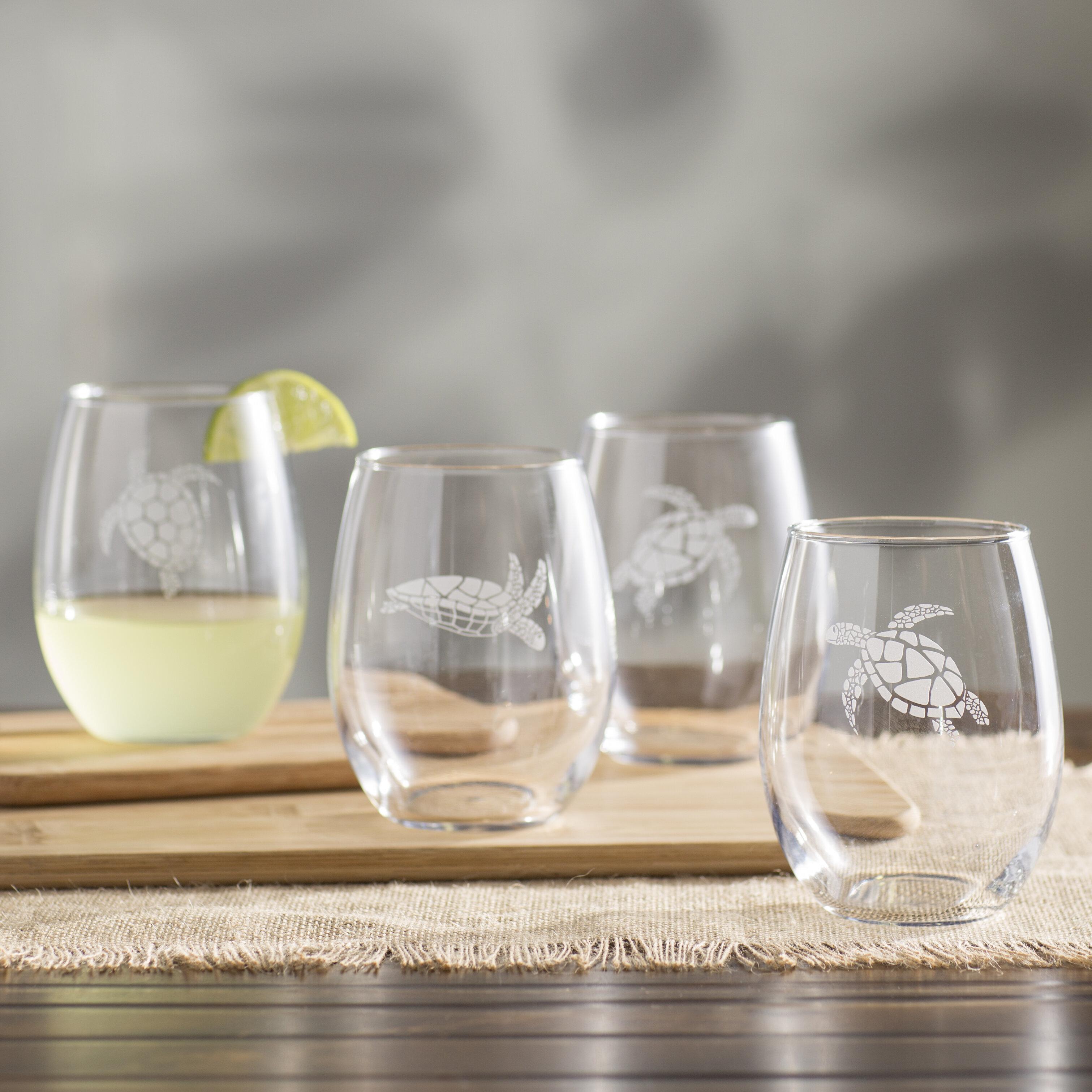 Whale Acrylic Wine Goblet