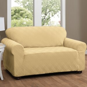 Double Diamond Box Cushion Loveseat Sl..