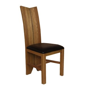 Alicia Solid Wood Dining Chair (Set of 2) Foundry Select