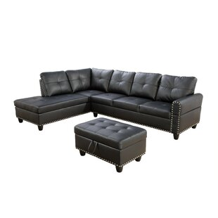 Red Barrel Studio Samsel Sectional with O..