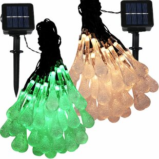 Reviews Boone Solar Powered 30 Light String Light By The Holiday Aisle