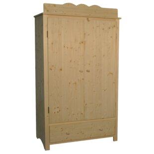 Crowell 2 Door Wardrobe By Harriet Bee