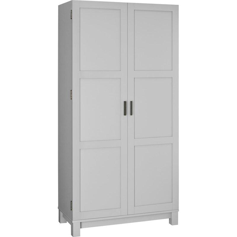 Fresh 2 Door Storage Cabinet Black