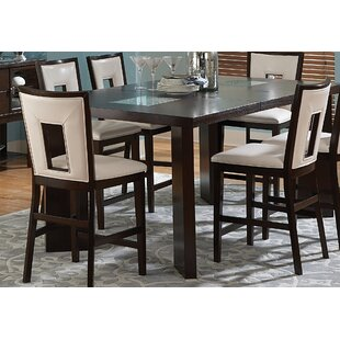 Brayden Studio Hillcrest Counter Height Extendable Dining Table