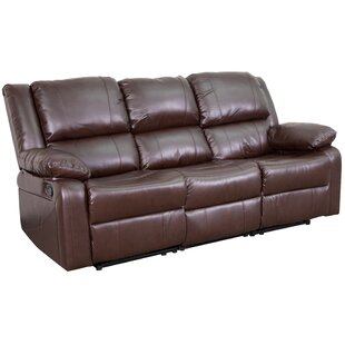 Harben Reclining Sofa Red Barrel Studio
