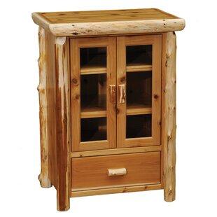 Cedar 1 Drawer 2 Door Accent Cabinet by Fireside Lodge