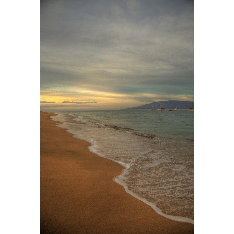 Hadleyhouseco Kaanapali Sunrise Hawaiian Islands 5 By Kelly Wade Photographic Print On Wrapped Canvas Wayfair