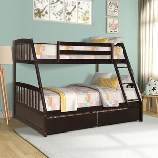 Mccurcheon Solid Wood Twin over Full Loft Bed