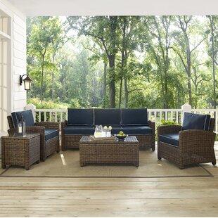 Dardel 5 Piece Sofa Set with Cushions