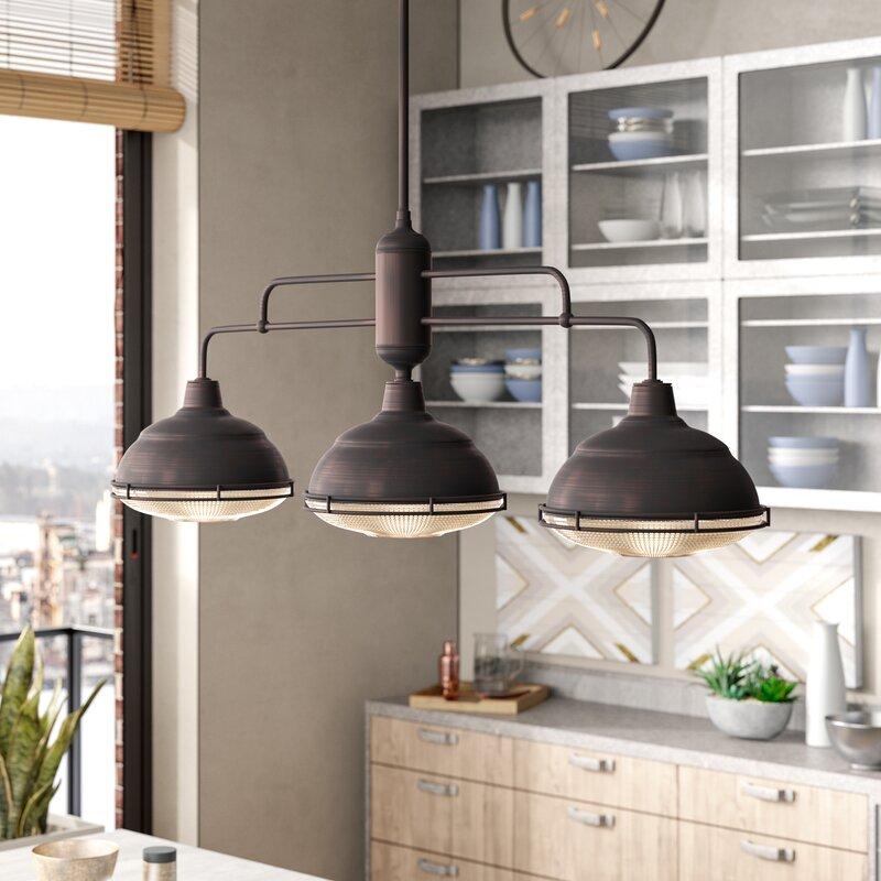 trent austin design bruges 3 light kitchen pendant wayfair rh wayfair com 3 light kitchen pendants 3 light kitchen island pendant glass