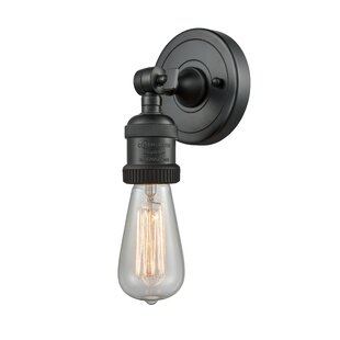 Affordable Price Donahue 1-Light Armed Sconce By Williston Forge