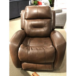 Showcase Leather Power Recliner by Southern Motion Best