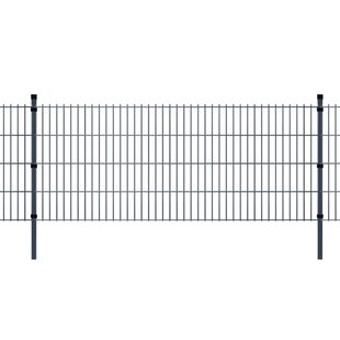 Vernell 2D 98' X 7' (30m X 2.03m) Picket Fence Panel By Sol 72 Outdoor