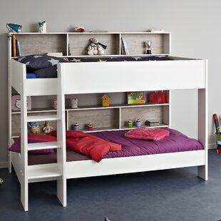 Lena European Single Triple Sleeper Bunk Bed With Drawer By Harriet Bee