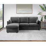 Blodget 86 Reversible Sofa and Chaise by Latitude Run®