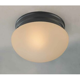 Troy 1-Light Semi Flush Mount by Volume Lighting