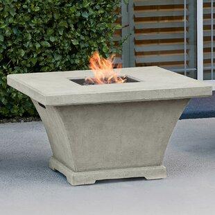 Real Flame Monaco Concrete Propane Fire P..