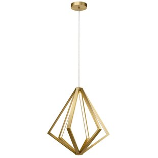 Django 6-Light LED Geometric Chandelier by Mercer41