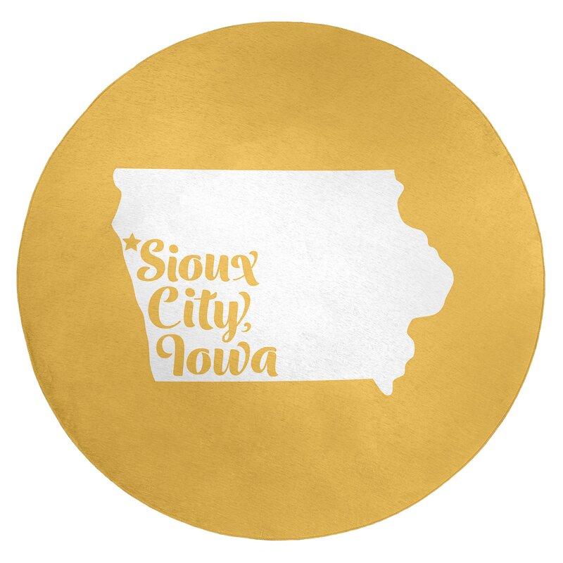 East Urban Home Sioux City Iowa Poly Chenille Rug Wayfair