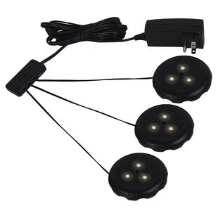 Sea Gull Lighting LED Under Cabinet Puck Light Kit