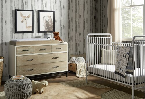 Shop this Room - Modern Rustic Nursery Design