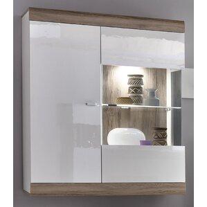 loft wall mounted display cabinet