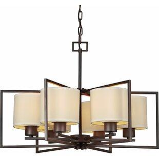 Mcphee 6-Light Shaded Chandelier by Ebern Designs