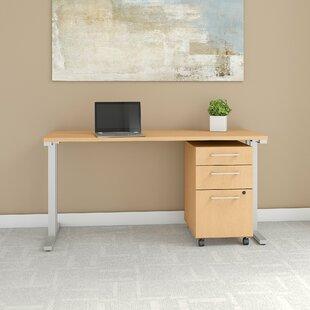 Bush Business Furniture 400 Series 2 Piece Desk Office Suite