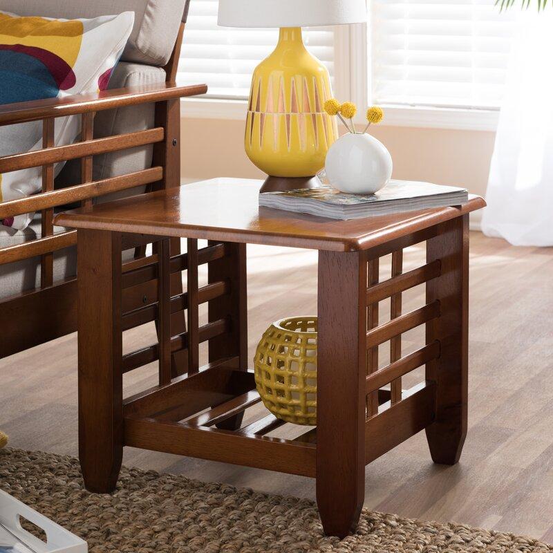 Wholesale Interiors Baxton Studio End Table Reviews Wayfair
