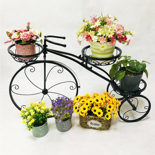 Bicycle Plant Stands Accessories Planters You Ll Love In 2021 Wayfair