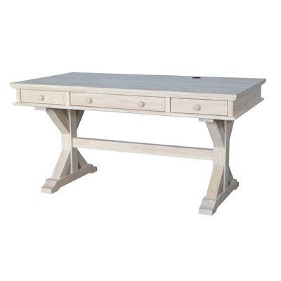 Cheever Solid Wood Computer Desk by Darby Home Co