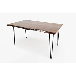 Union Rustic Coots Wooden Dining Table