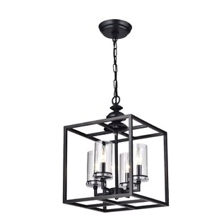 Didmarton 4-Light Square/Rectangle Chandelier