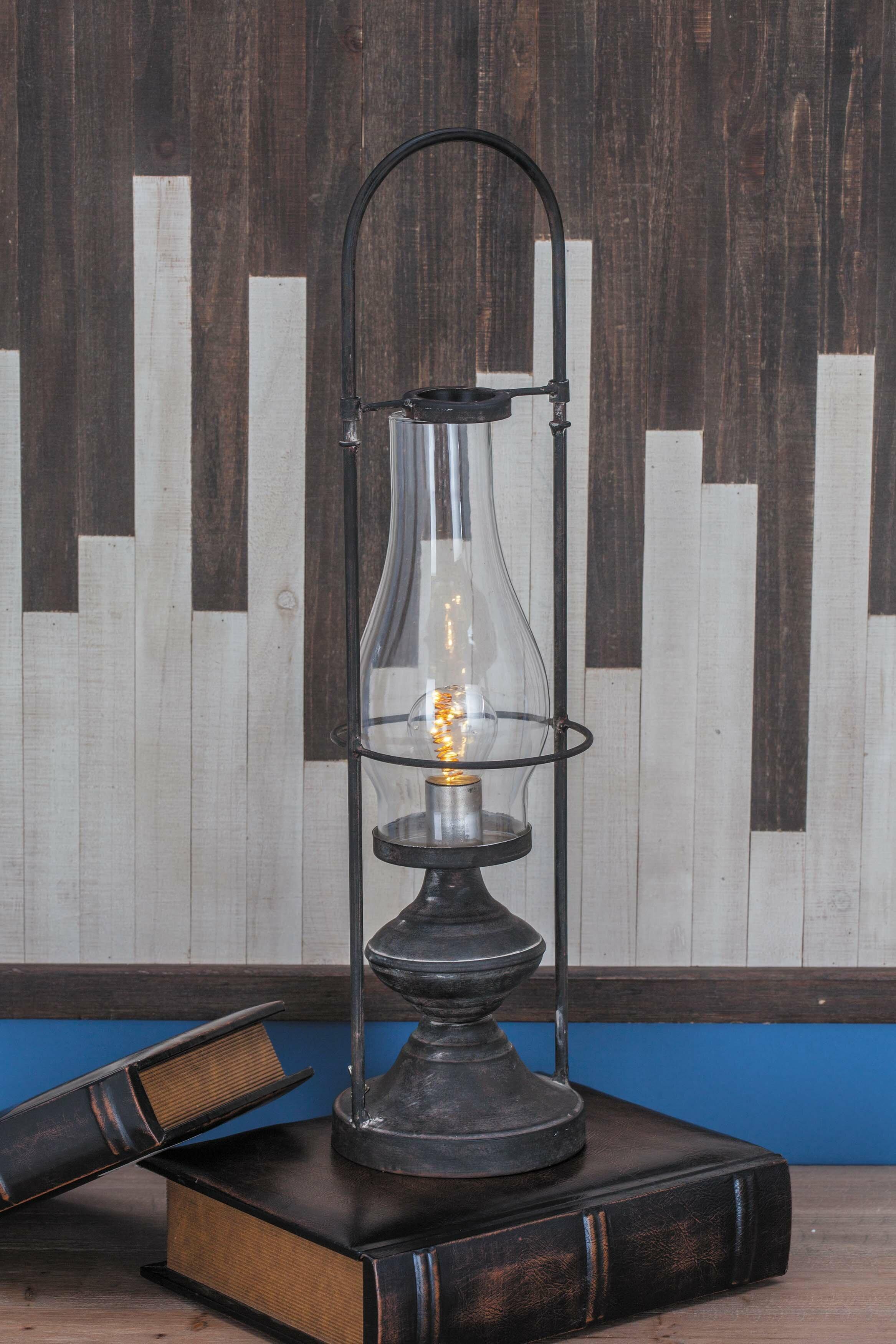 Breakwater Bay Opperman Metal Led Lantern Wayfair