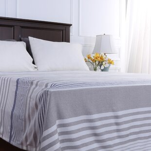Statement Stripe Woven Blanket