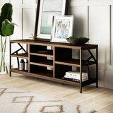 Derwood 60 Distressed Storage Console Table by Mercury Row®