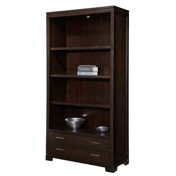 Bookcase With Closed Storage Perigold